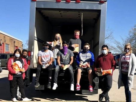 Morristown West Trojans Give Back