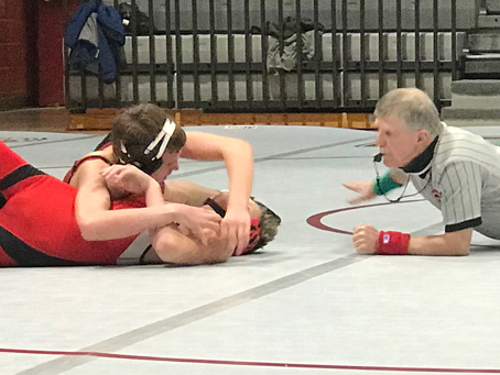 West High Wrestling Wins Three Matches