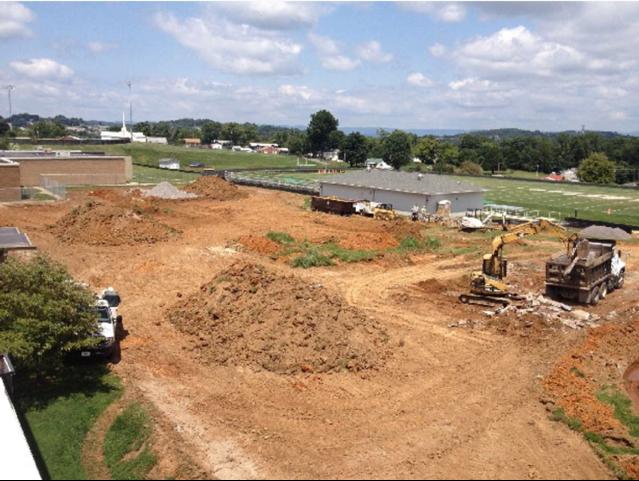 Freshman Academy Construction In 2014