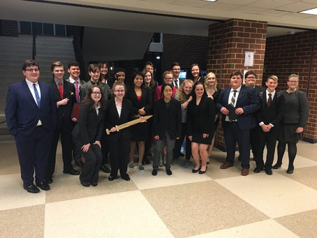 Forensics Team Wins Second at Soddy Daisy Tournament