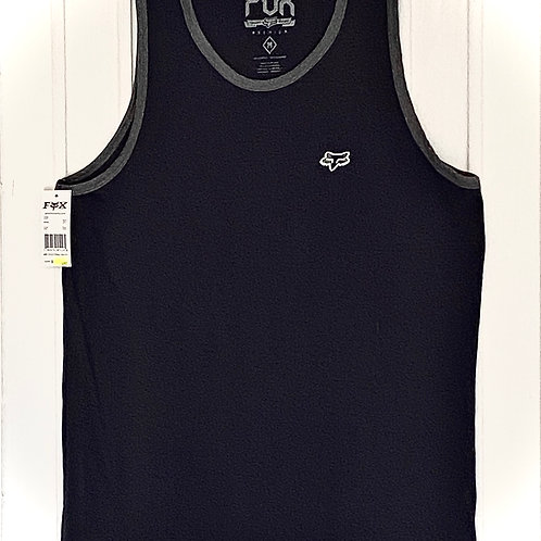 Camiseta desmangada FOX (azul marino)