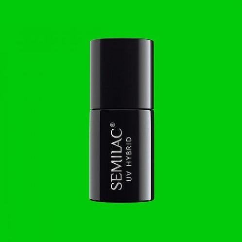 041 Esmalte semipermanente Semilac Caribbean Green 7ml