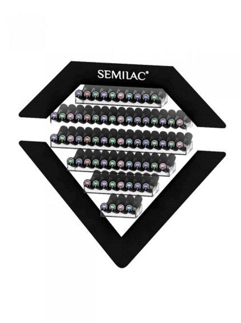 Expositor Colgante Semilac para 66 esmaltes negro