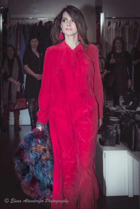 Fashion-show at Viktoria Boutique