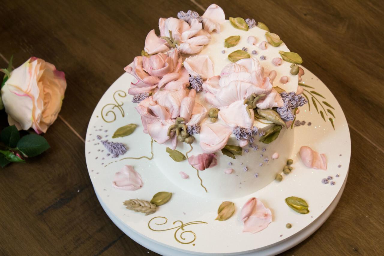 Flower Cake Espatulado
