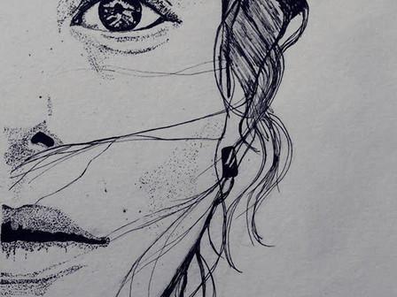 """Girl with Hoop"" by Matthew Woodman"