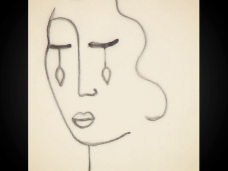 """Commentary of """"The Sorrowful Woman"""""""