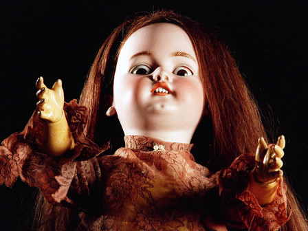 to make an example of (she was wicked) or chew toy doll