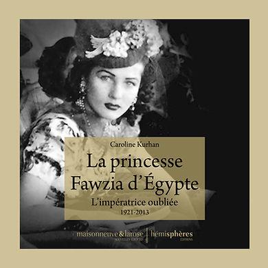 La princesse Fawzia d'Egypte