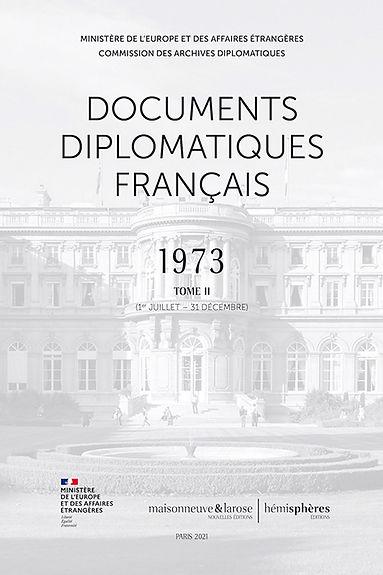 Documents diplomatiques français 1973