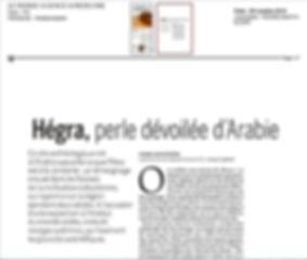Hégra, Le Monde