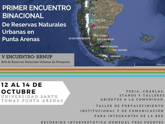 V Encuentro de la Red de Reservas Naturales Urbanas de Patagonia.