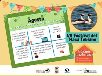 Comenzó el VII Festival del Macá Tobiano en modalidad virtual