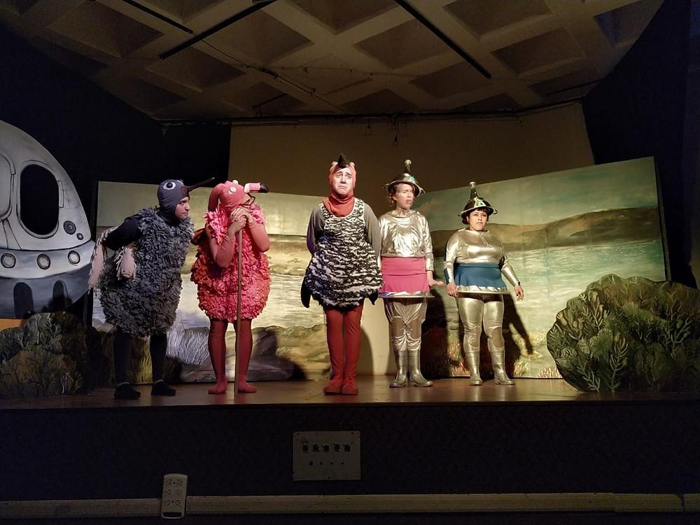 """Obra de Teatro Ambiental """"Odisea por sobrevivir"""""""