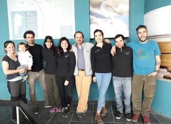 Ambiente Sur y Aves Argentinas refuerzan acciones para la conservación del Macá Tobiano