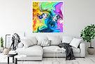Abhishek Soni- Neon Rainbow Eyes- Abstract- Living- 4.jpg