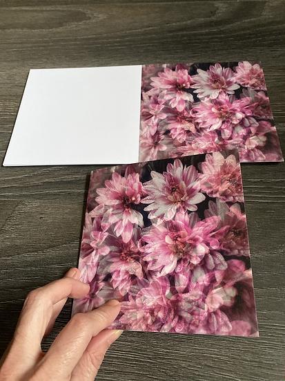 Carte de voeux 2 + enveloppe