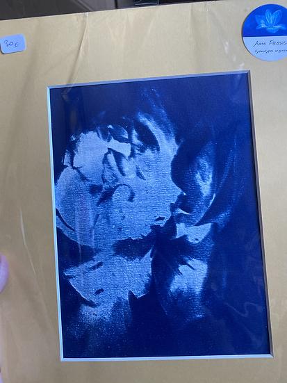 Cyanotype vendu avec son passe partout
