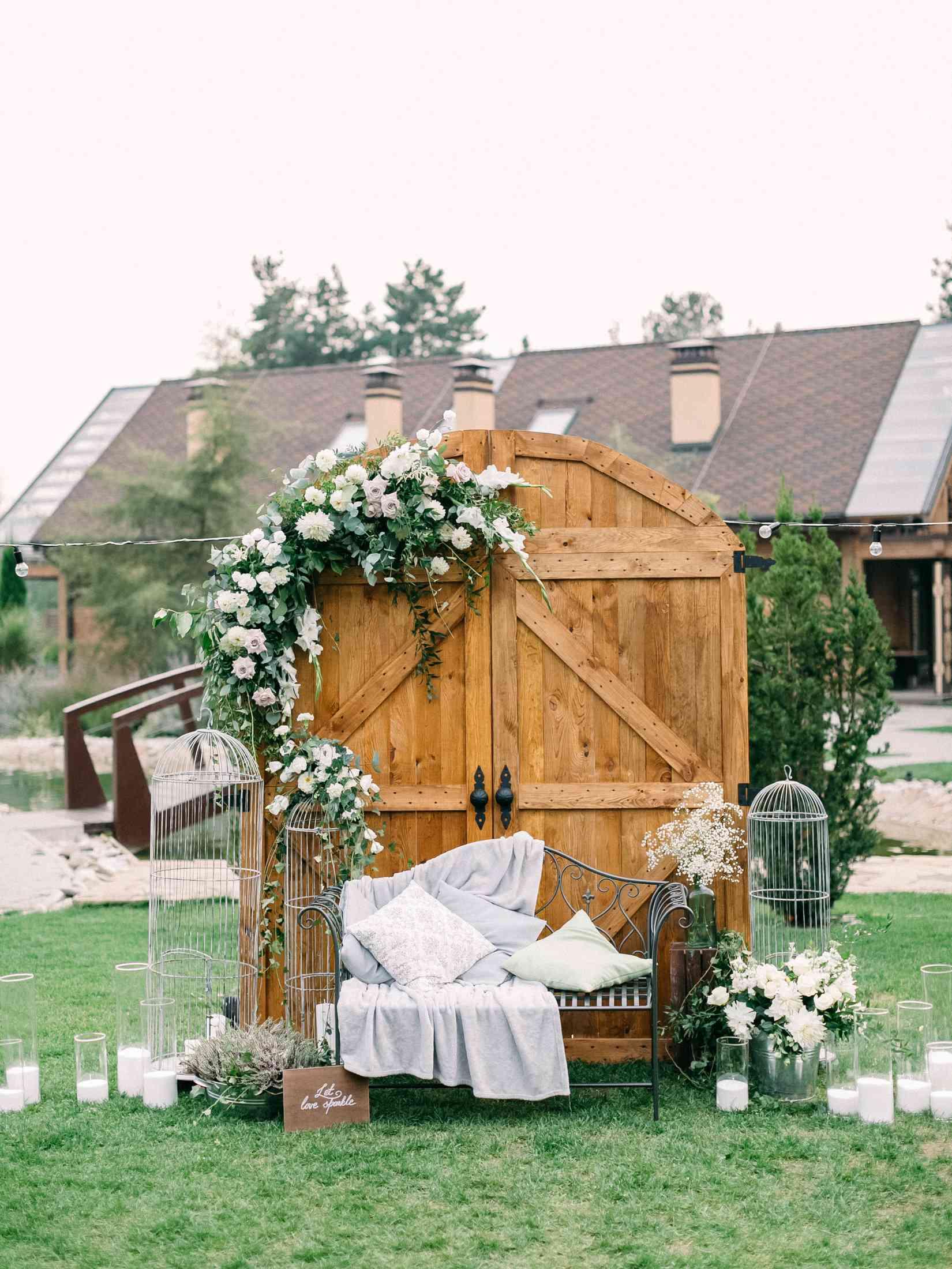 ворота (двери) свадебная церемония
