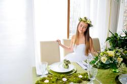 свадебная флористика, лесная свадьба