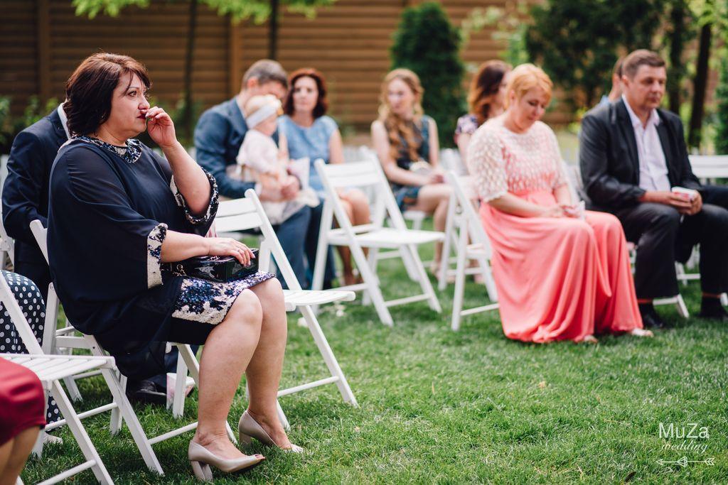 эмоции гостей на свадебной церемонии