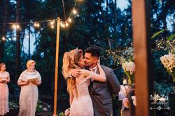 первый поцелуй свадебная церемония