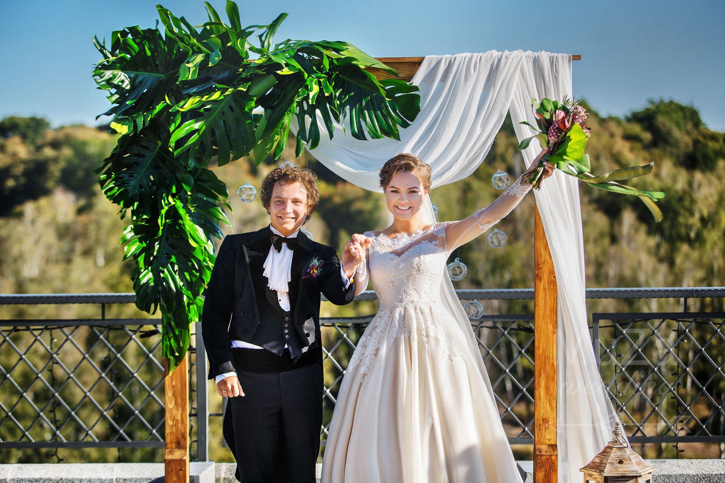 свадебная церемония в Гвоздове Киев