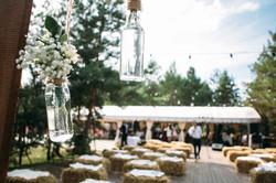свадебная церемония в стиле кантри