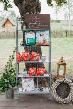 корм для бездомных животных, свадьба