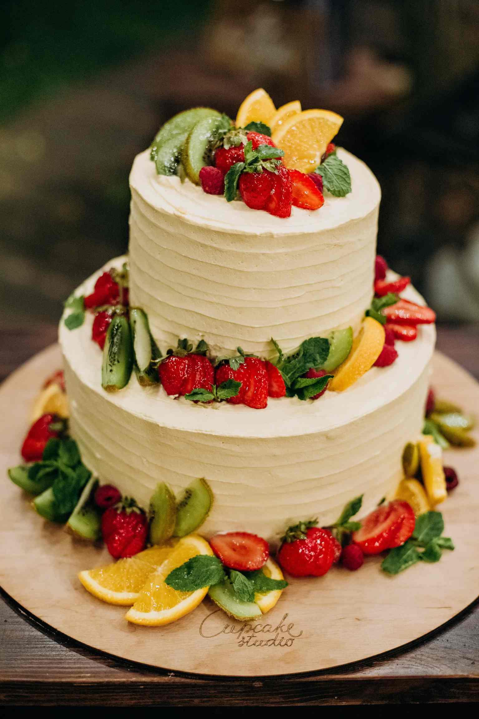 свадебный торт cuocake studio
