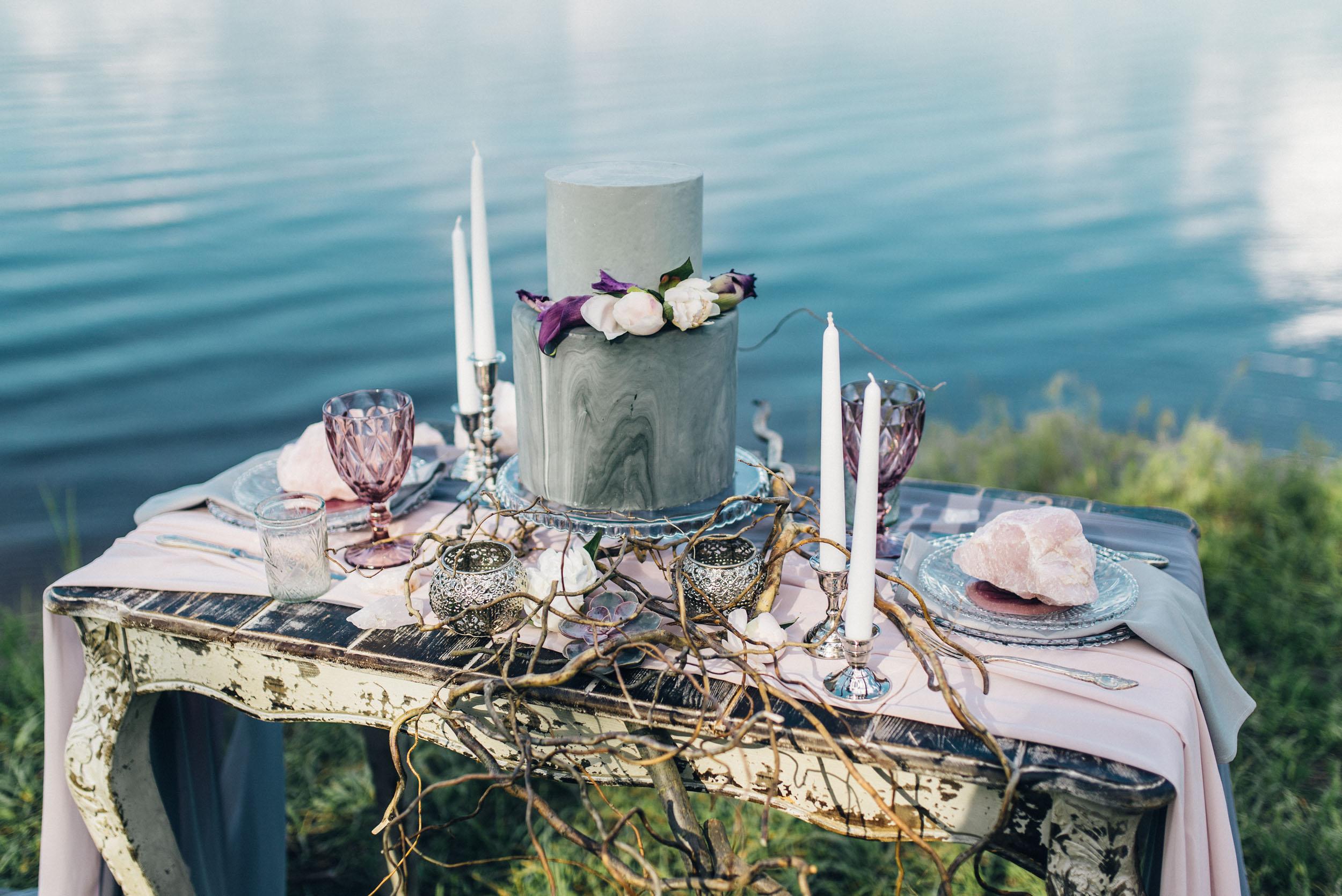 свадебный торт Киев, декор