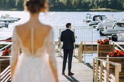 за минуту до первой встречи свадьба