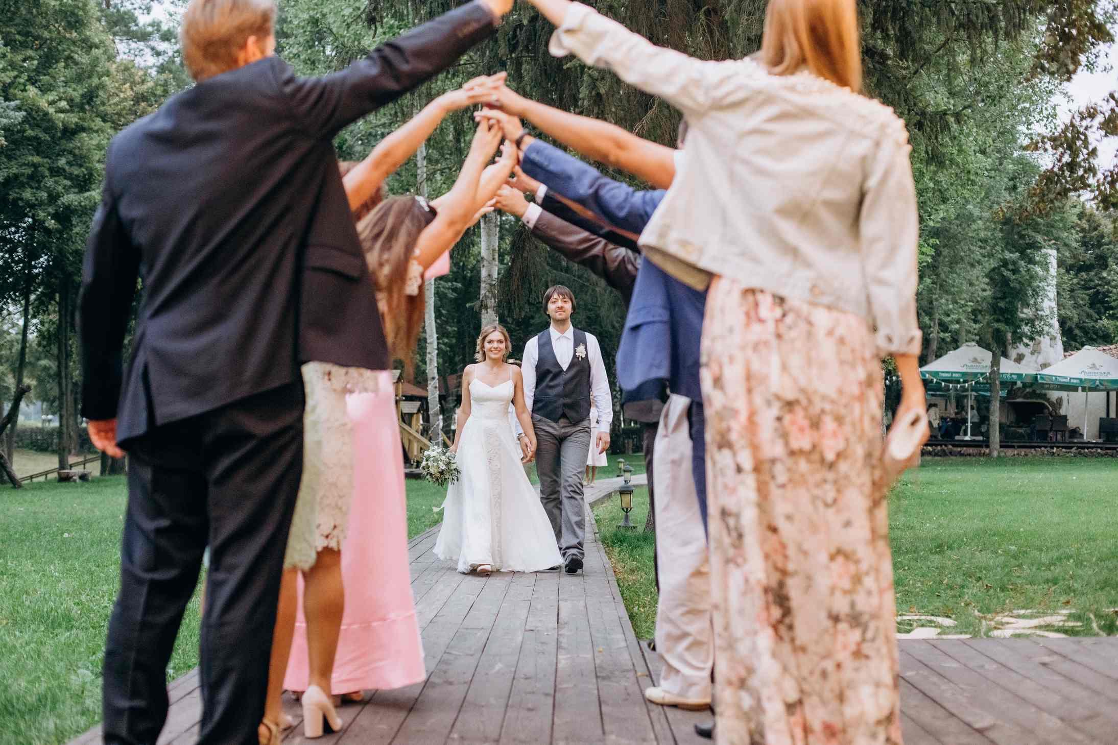 фотосессия с гостями свадьба