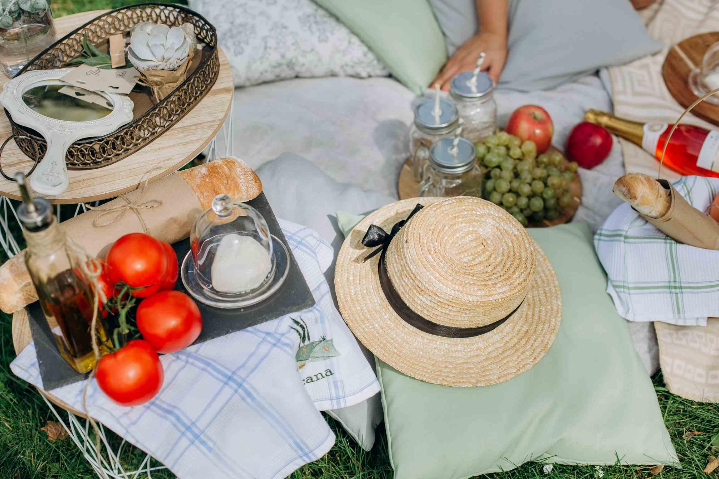 утро невесты в формате пикник
