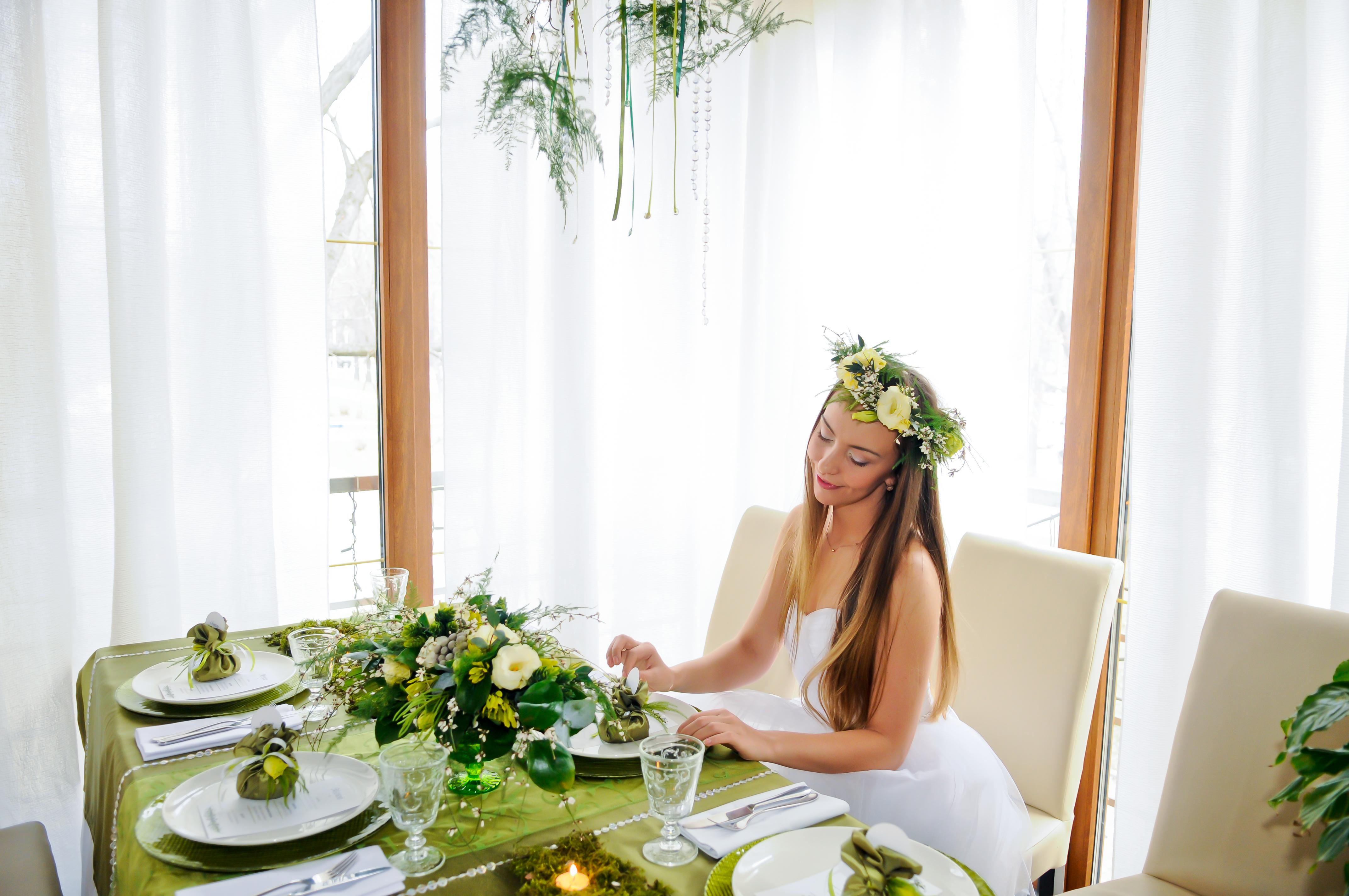 невеста, лесная сказка, флористика