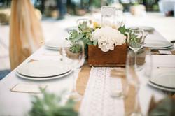 композиции на гостевые столы рустик