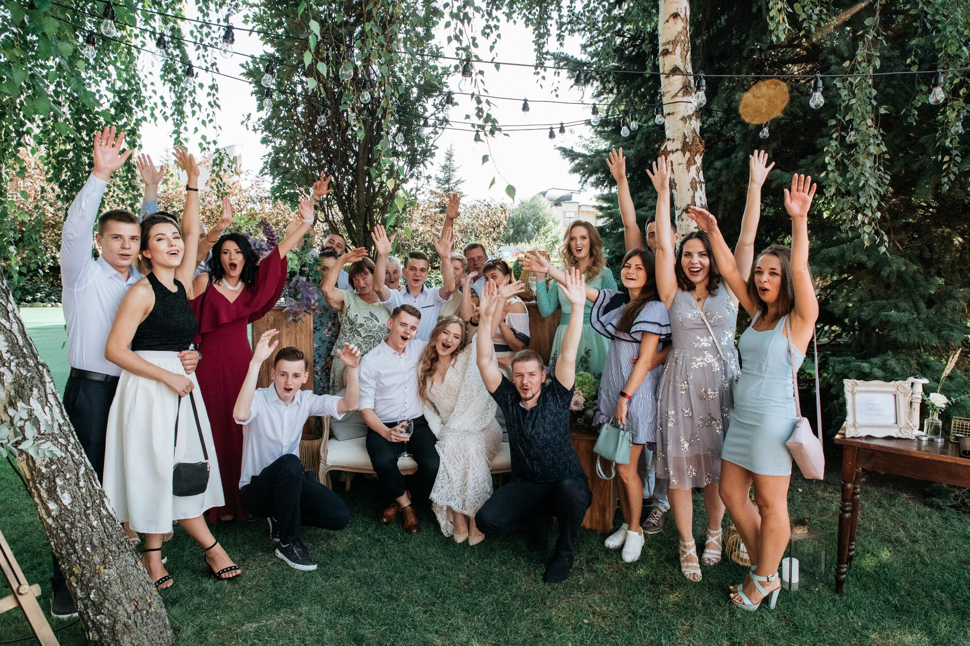 фото гостей на свадьбе идеи