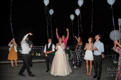 запуск светодиодных шариков свадьба