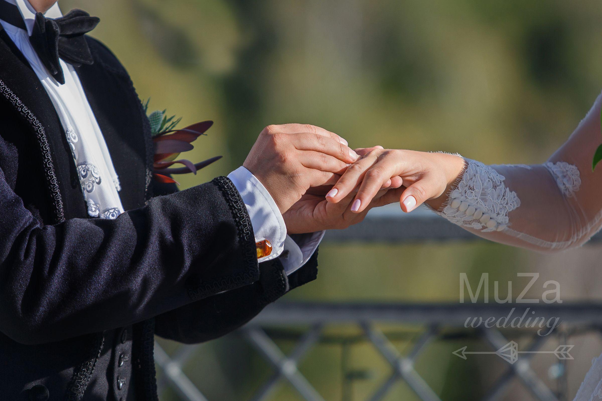 обмен кольцами свадебная церемония