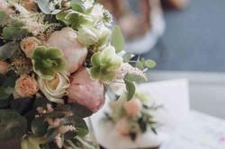 нежное утро невесты