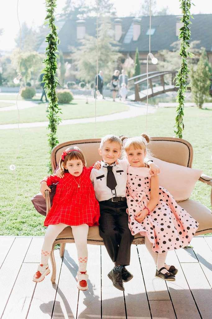 дети на свадьбе, милое фото