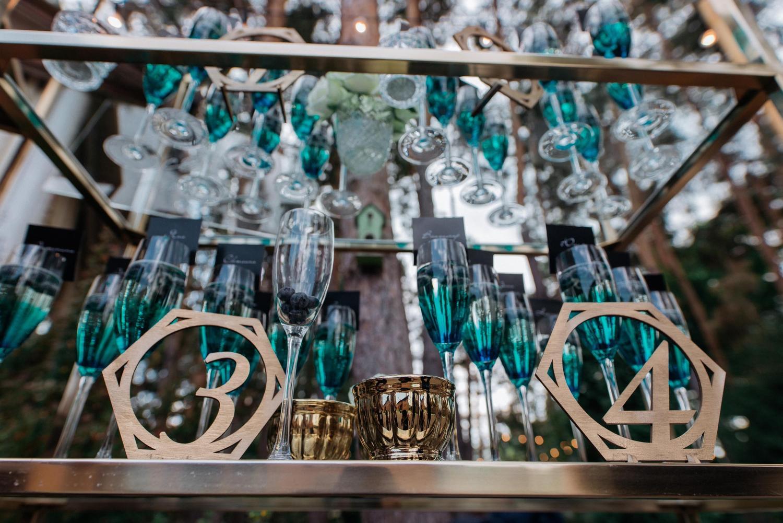 голубое шампанское, велкам, свадьба