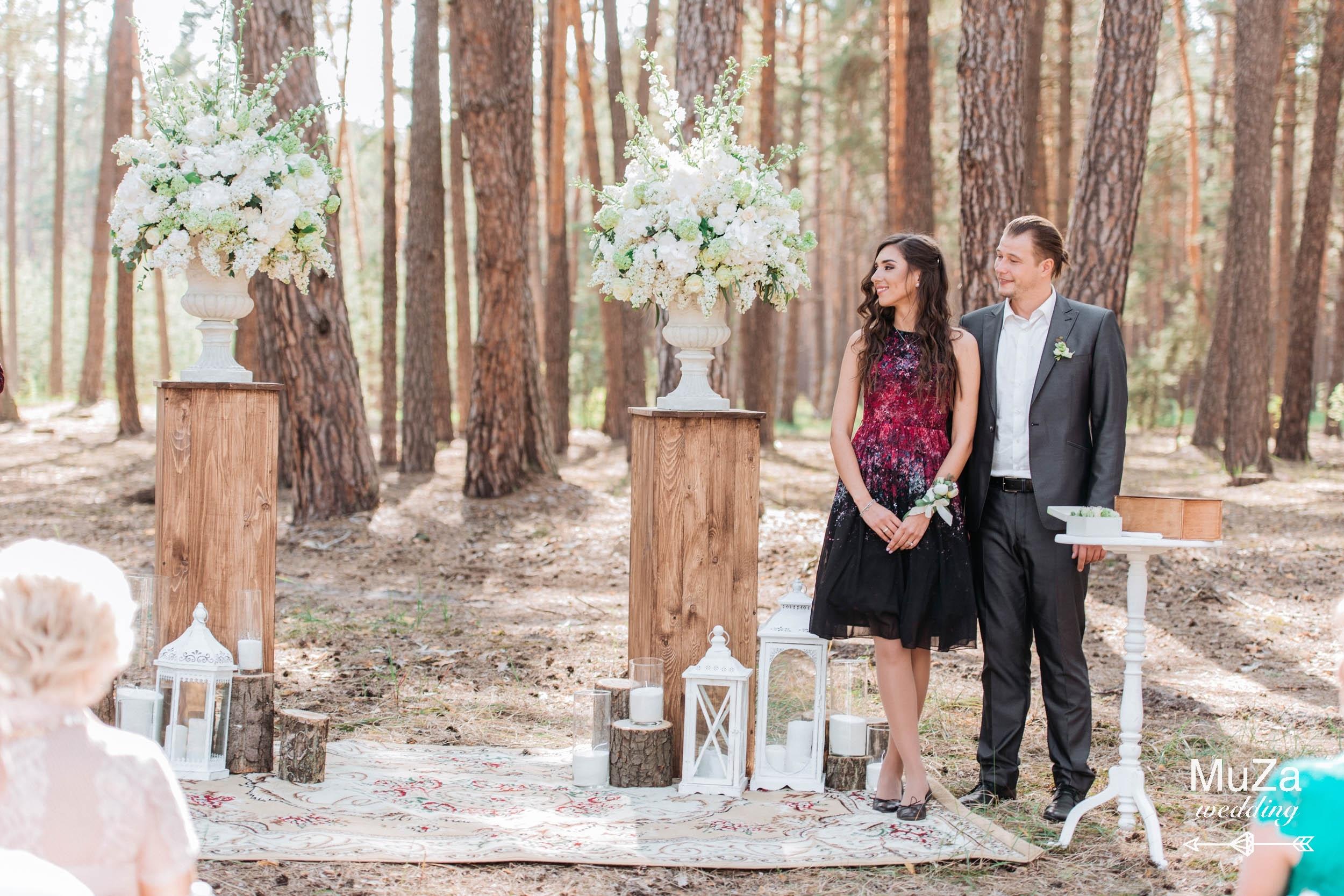 красивая свадебная церемония Киев