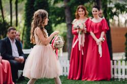 flower girl, свадьба, кольца