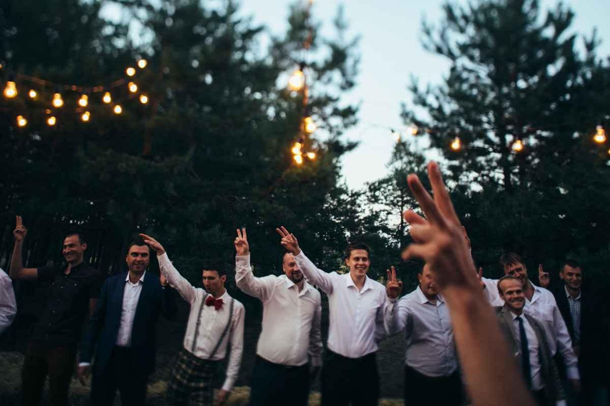 танцевальный мастер-класс на свадьбе