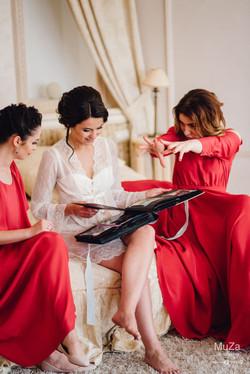 утро невесты с подружками