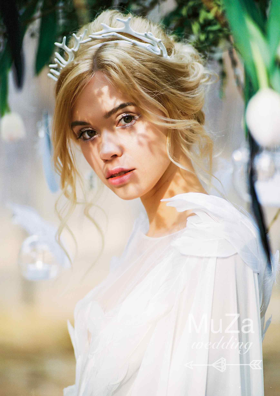 нежный образ невесты-ангела