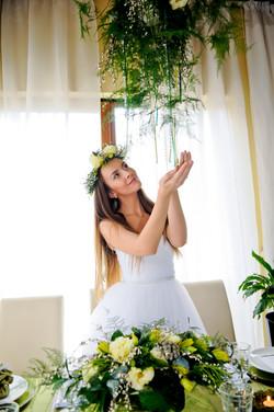 невеста, образ невесты, лесная нимфа