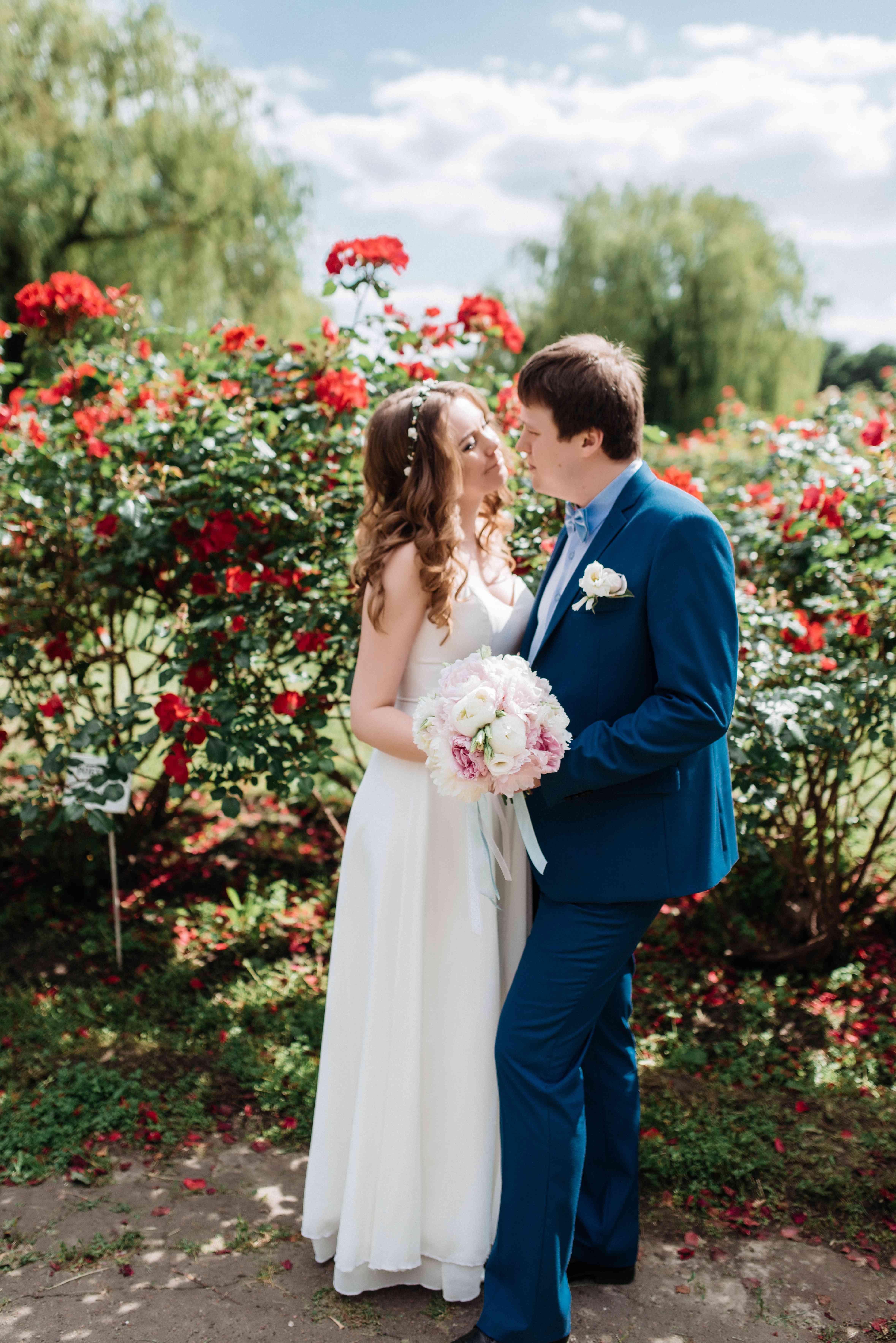 фотосессия свадебной прогулки
