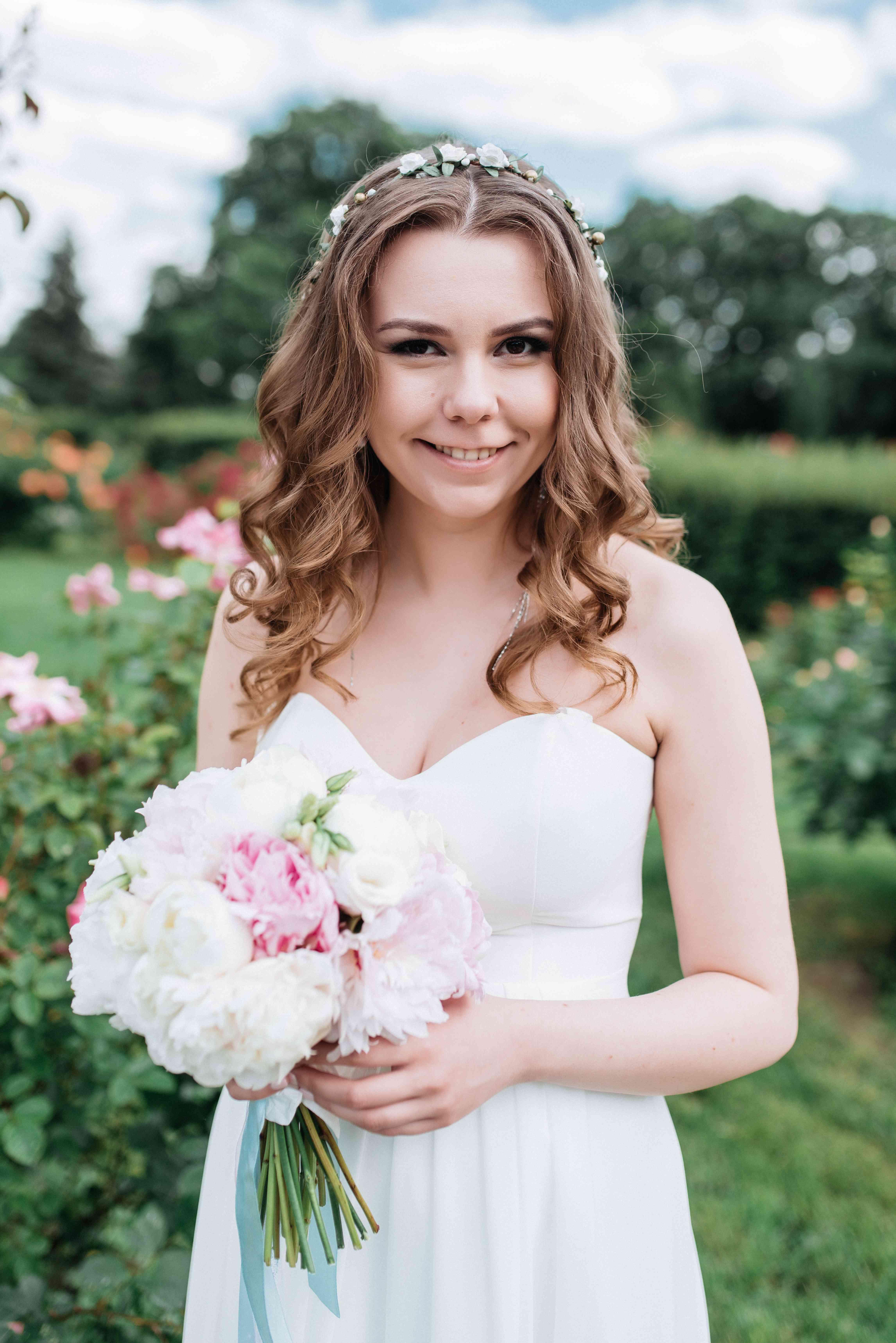 портрет невесты на свадьбе